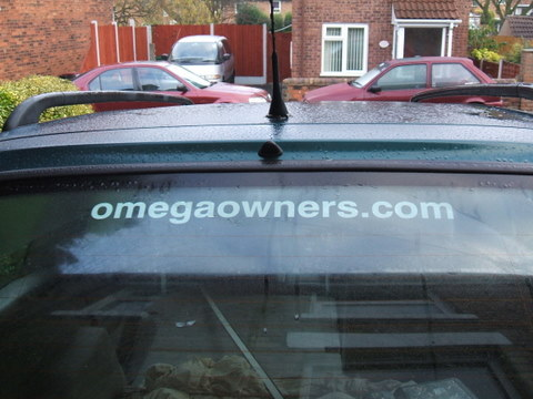 omegaowners.com Car Sticker - Medium